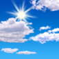 Today: Mostly sunny, with a high near 44. East wind 5 to 7 mph.